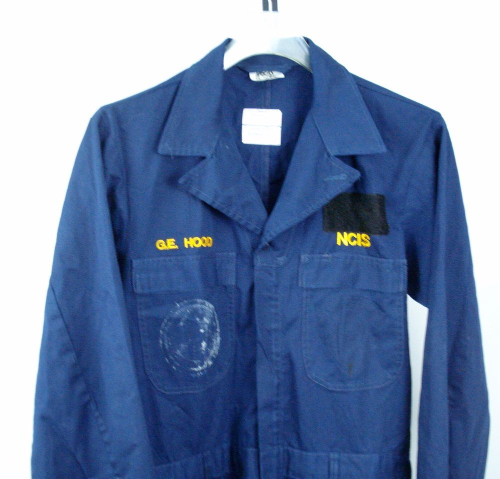 NCIS Navy Blue Coveralls 40 R Regular Military Utility #Unbranded