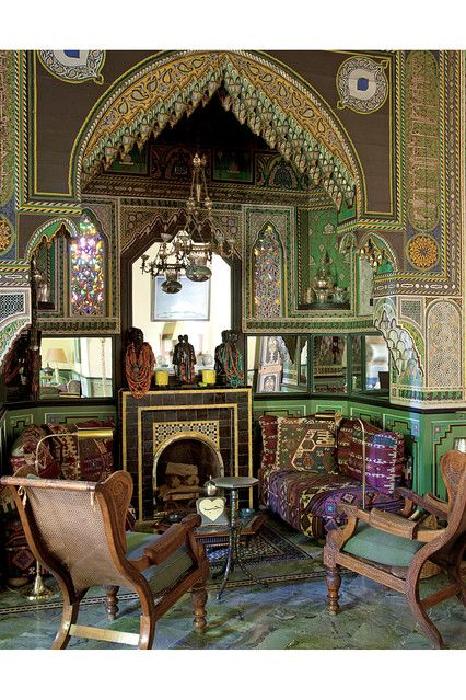 At Home In Marrakech Moroccan Interiors Steampunk House