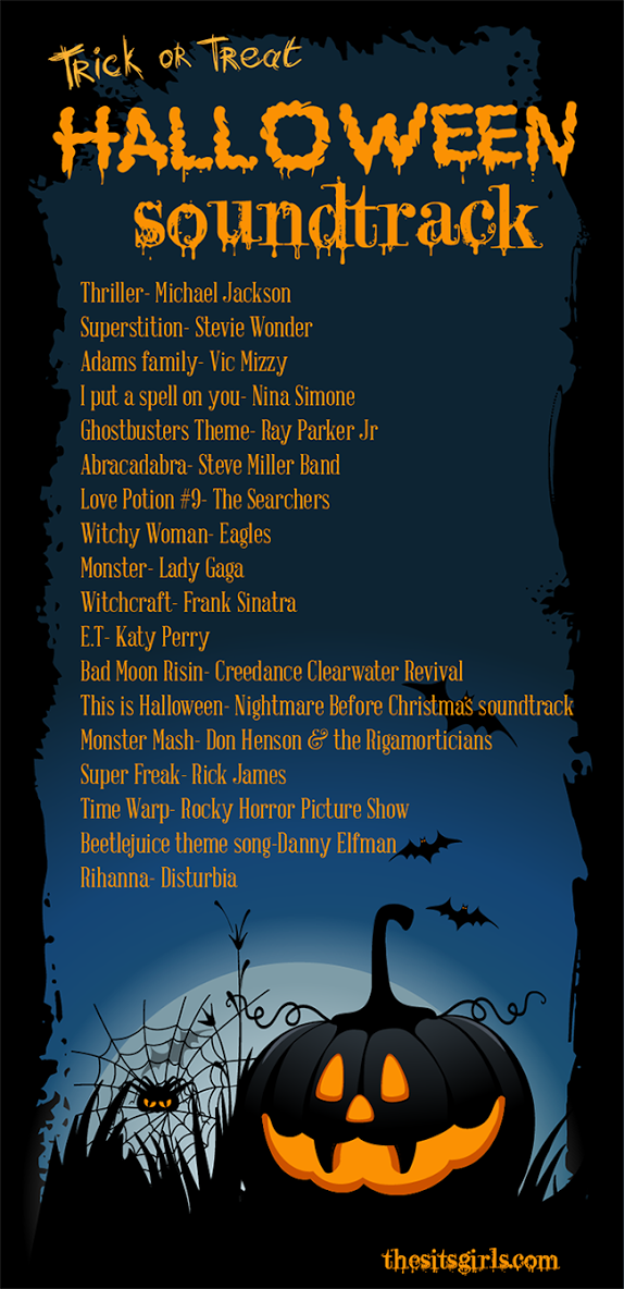 The perfect playlist for a rockin' Halloween! Halloween