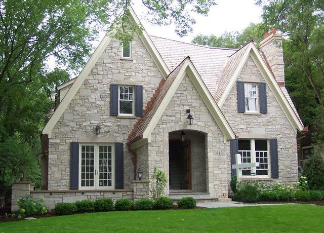 House Exteriors And Floor Plans Cottage House Plans Facade House Brick Cottage