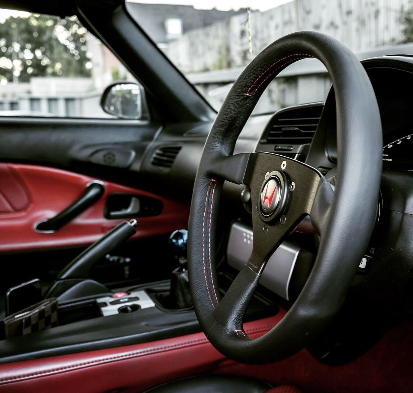 Nsx Horn With Spoon Steering Wheel Bike Toy Steering Wheel Nsx