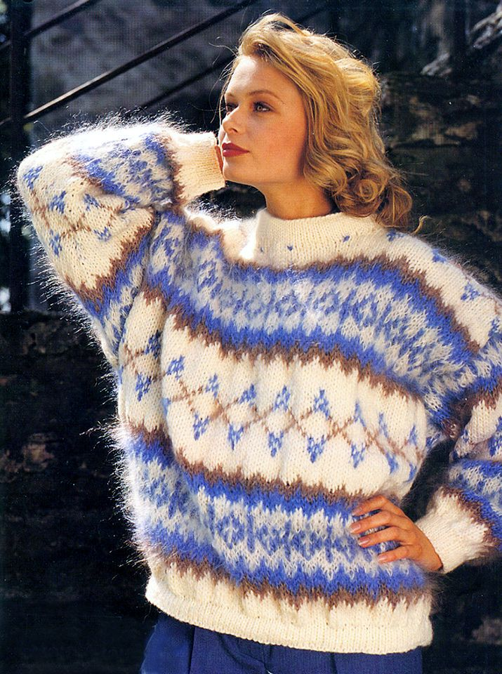 From an old Hayfield Mohair catalog   Hayfield   Pinterest