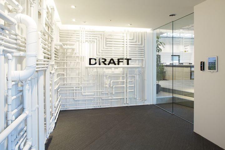 draft office tokyo japan retail design blog office interiors