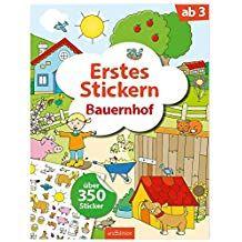 Erstes Stickern Bauernhof (Mein Stickerbuch) #Stickern, # ...