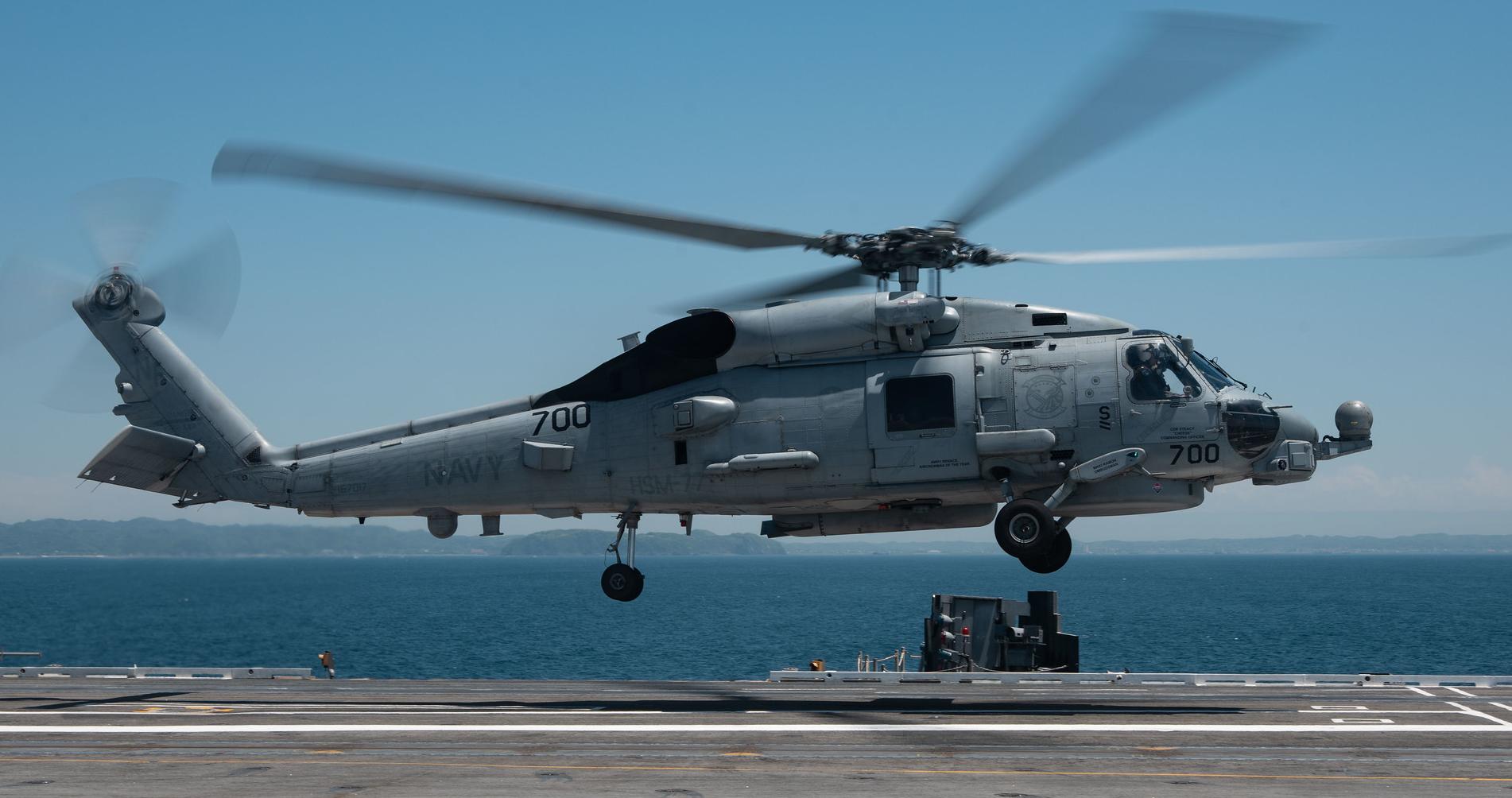 Обои MH-60R, армия, Sea Hawk helicopter. Авиация foto 3