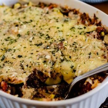 Italian Zucchini Quinoa Casserole (& My Gluten Sensitive Baby) Recipe