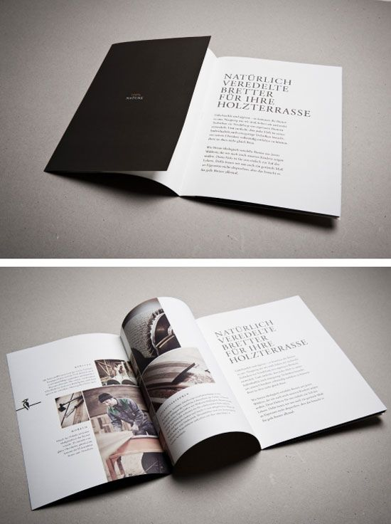 Elegant Brochure Designs For Your Inspiration  Visual Identity