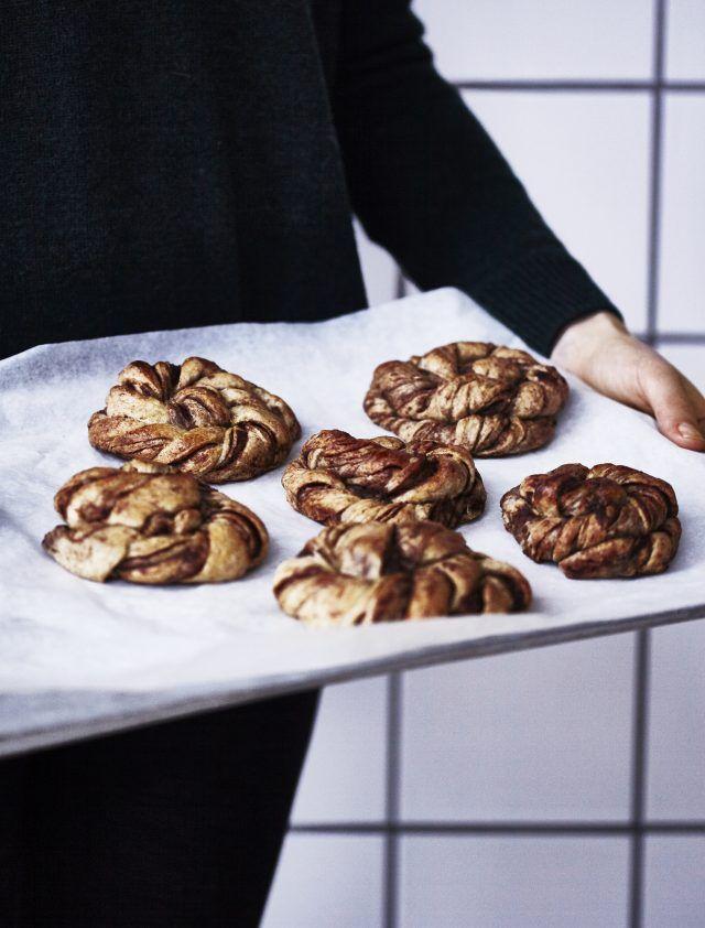 Sundere kanelsnurrer - en favorit fra vores kogebog 'Hverdagsfavoritter'.