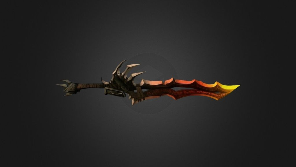 Sword 1 - Low poly by S3RGI - 3D model
