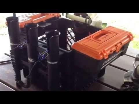Best kayak fishing milk crate cheap !! - YouTube