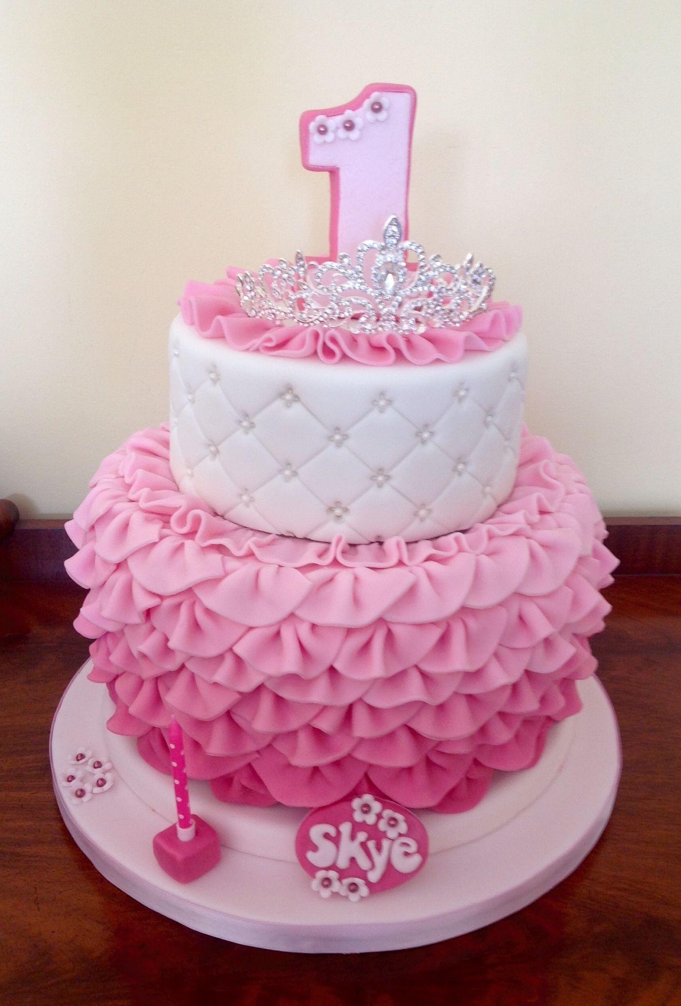 My Finished Creation Happy Birthday Skye Baby 1st