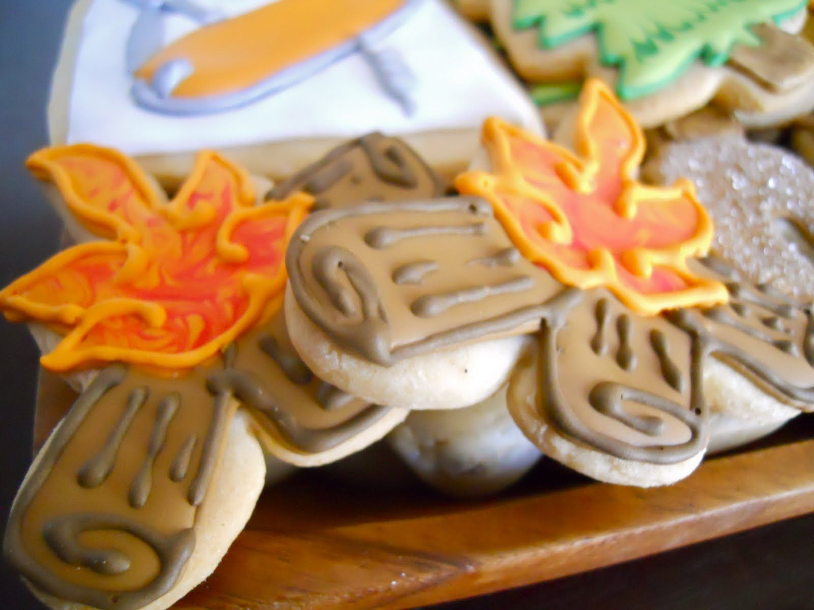 Campfire Themed Cookies | SOUTHWESTERN | Pinterest