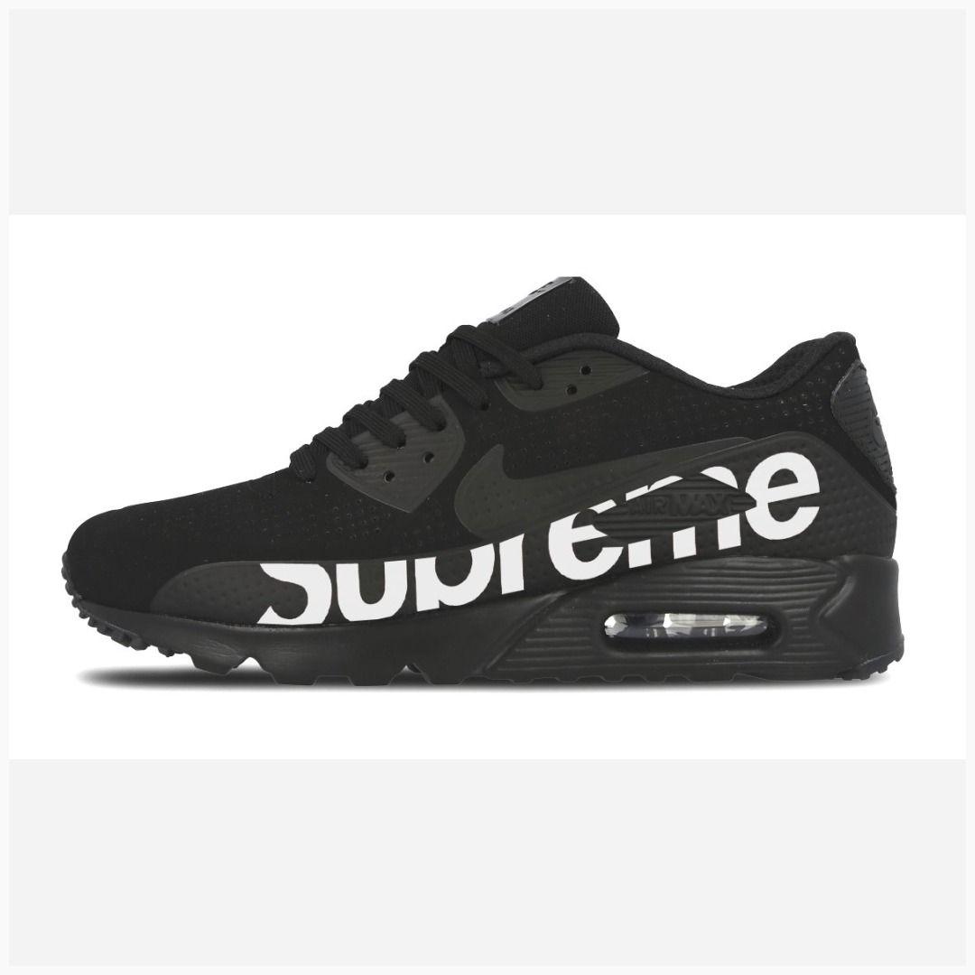 super popular cde09 8b778 Bandana Fever Supreme Print Custom Black Nike Air Max Shoes  supremenyc   supremeclothing  supremebrand  fashion  style  supremeusa