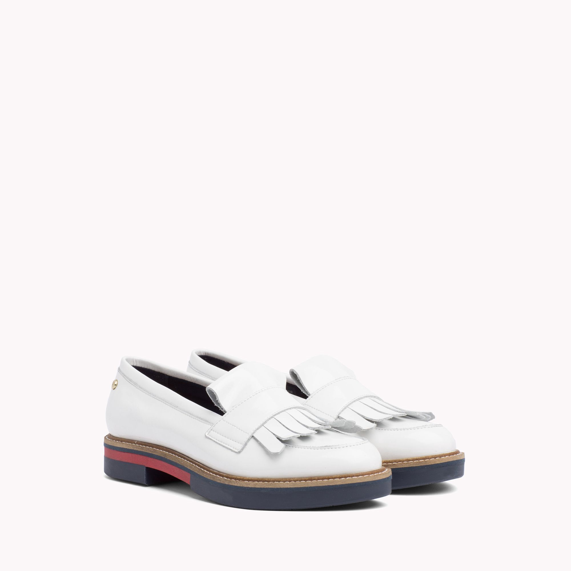 Embellished Leather Trainers - Sales Up to -50% Tommy Hilfiger vnqXO