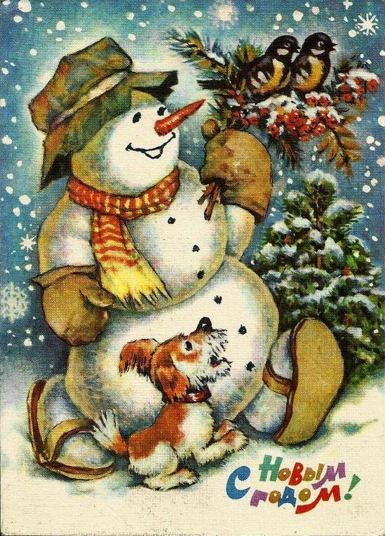Советская новогодняя поздравительная открытка Новогодний снеговик!............ АТМОС 3103 многофункциональный увлажнитель воздуха http://www.smartfamily.pro/collection/katalog-1-1430838561/product/atmos-3103-mnogofunktsionalnyy-uvlazhnitel-vozduha