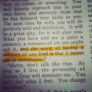 004 Quote from Oscar Wilde 'The Picture of Dorian Gray
