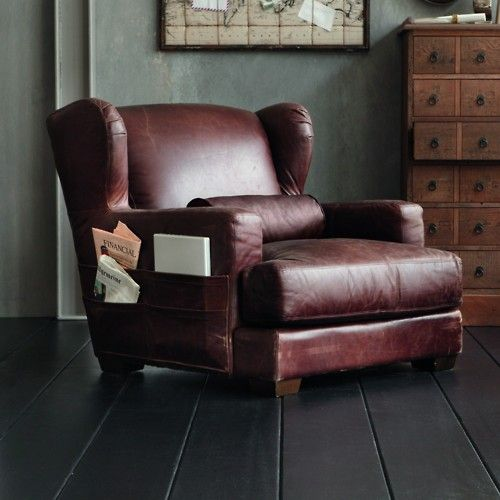 An Entry From Emilialua - Comfy leather armchair for readers