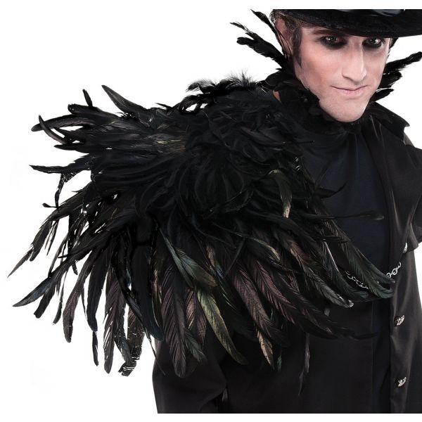 Gothic Shoulder Wing Halloween 2017 Pinterest Gothic, Dark