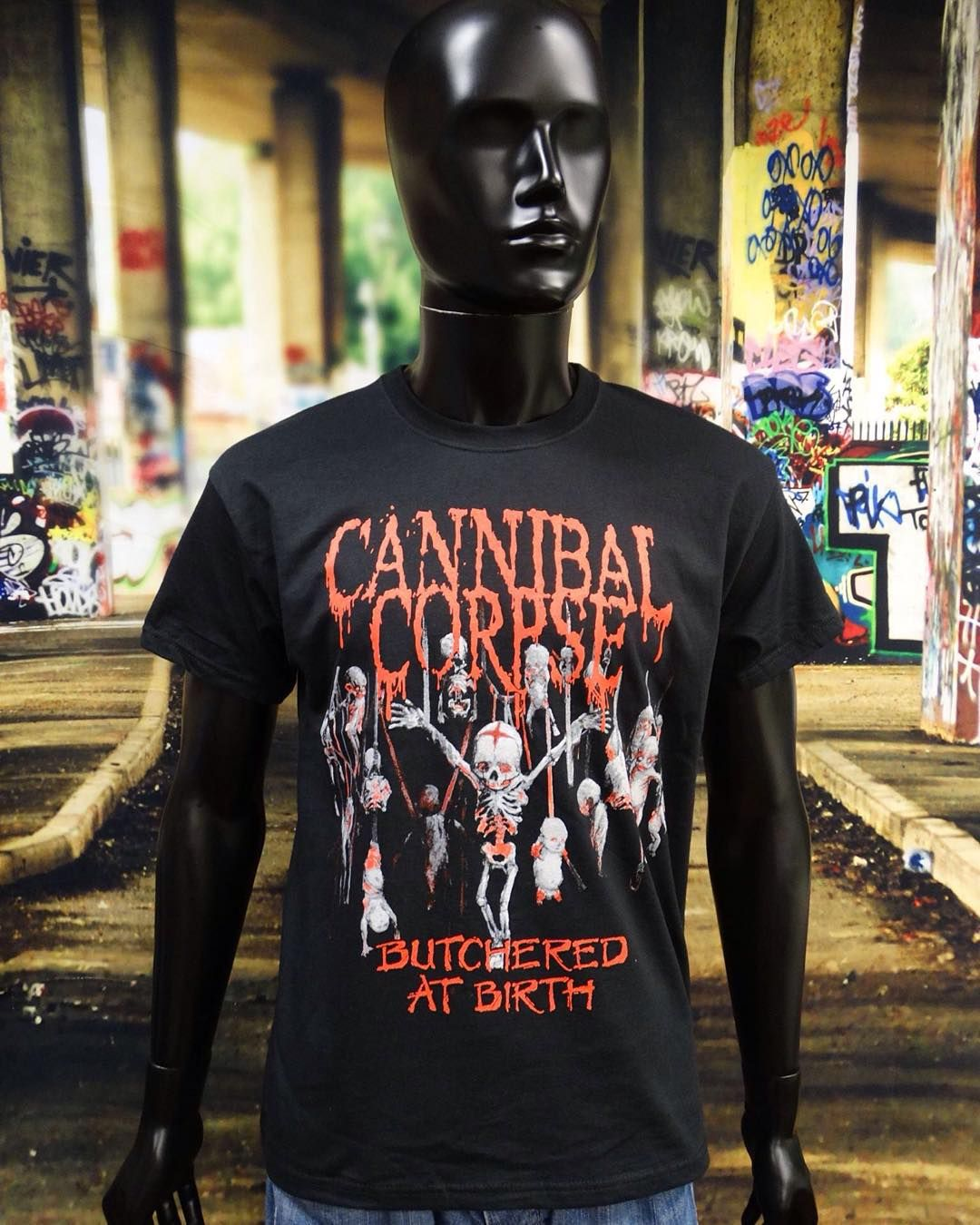 Metal Blade Records Logo Custom Black T-shirt USA Size Men/'s
