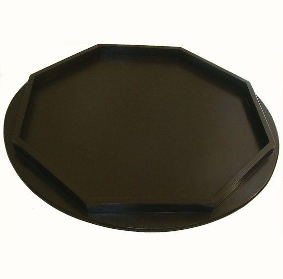 Excellent Large Handmade 36 Inch Espresso Brown Round By Machost Co Dining Chair Design Ideas Machostcouk