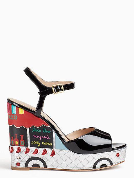 b9629f7fd89 KATE SPADE DORA WEDGES.  katespade  shoes