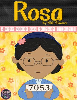 004 Rosa Parks (Rosa by Nikki Giovanni Biography Study