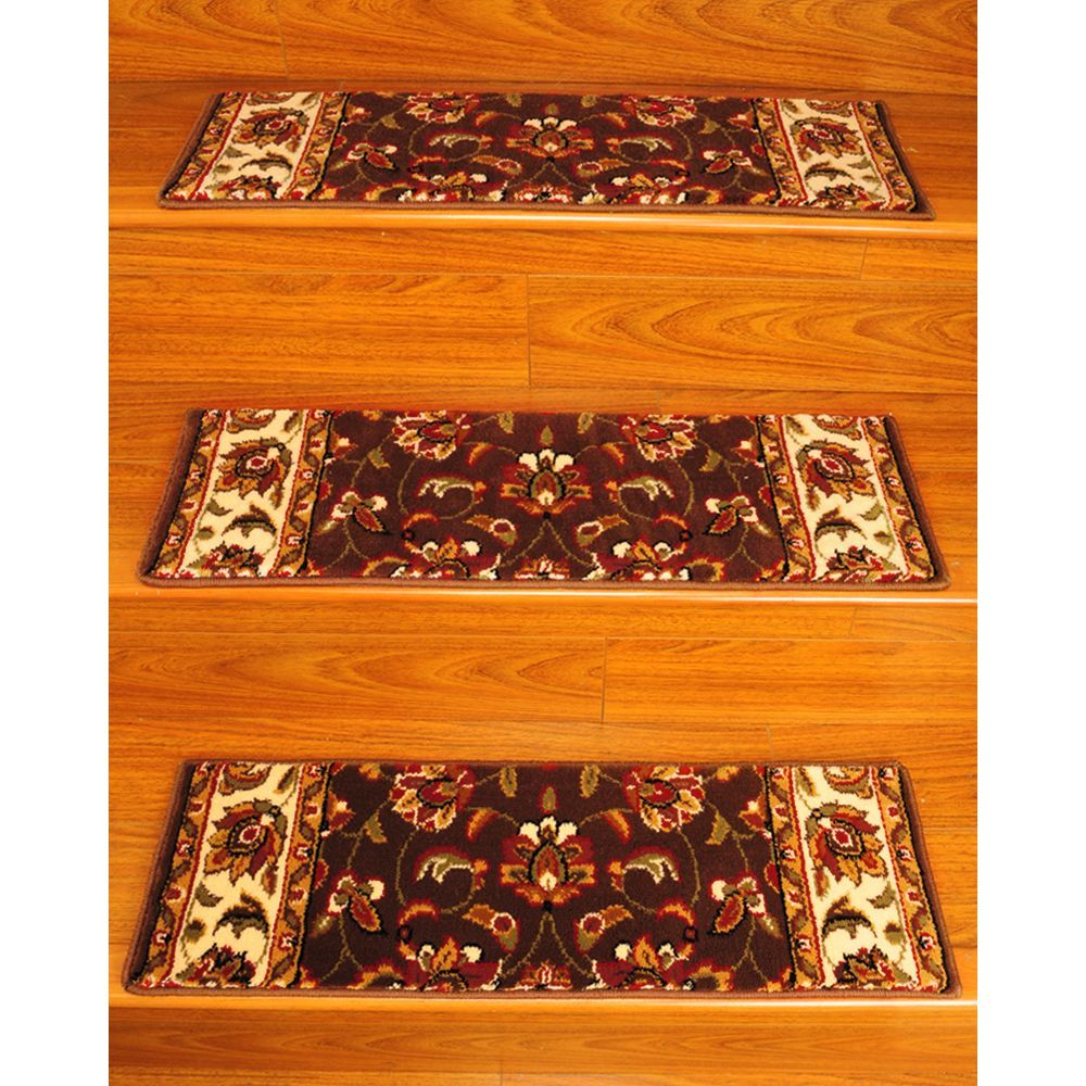 Natural Area Rugs Handcrafted Summit Carpet Stair Treads u x u