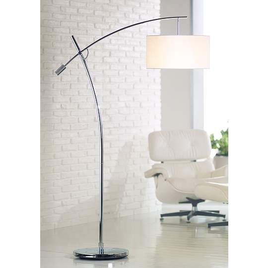 Browse of arc floor lamps designer and exclusive looks at lamps plus best prices on our wide arc floor lamp selection iconic styles for the reading and