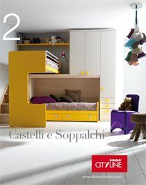 Letti A Castello Per Bambini Doimo.Camerette Per Ragazzi E Bambini Doimo Cityline Cosa Mi Piace In