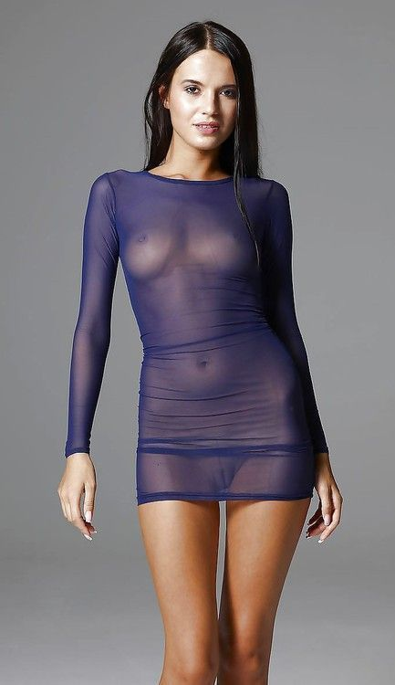Sexy see through dress pics