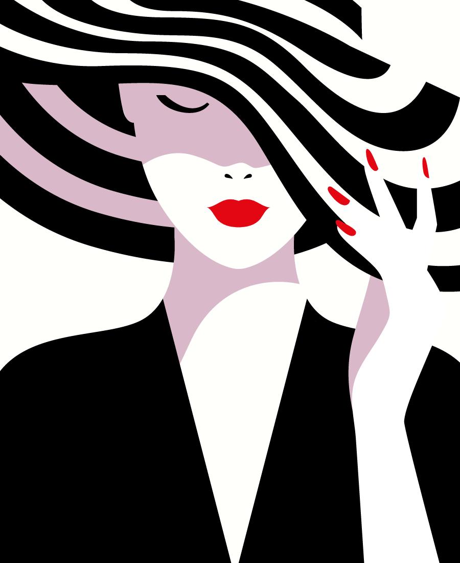 O estilo minimalista ousado da francesa malika favre for Estilo minimalista