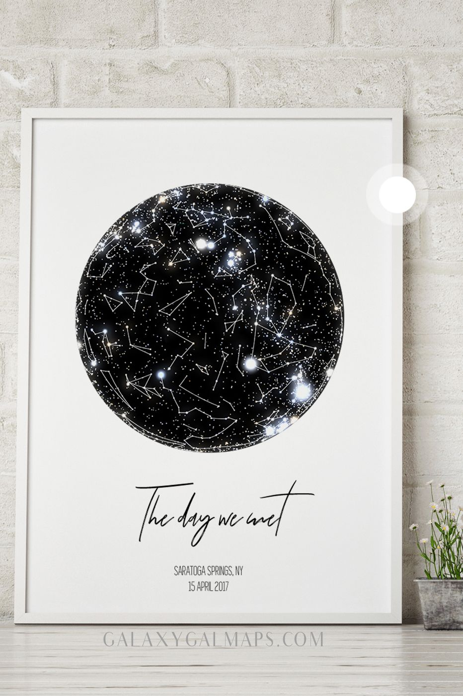 Personal Star Map By Date And Location Constellation Art Wall Art Pick Any Custom Quote Longitude And Latitude M Map Art Gift Constellation Art Star Chart