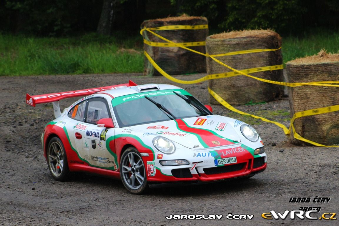Karel Macek; Aleš Pilný; Porsche 997 GT3; Rallye Český Krumlov 2015
