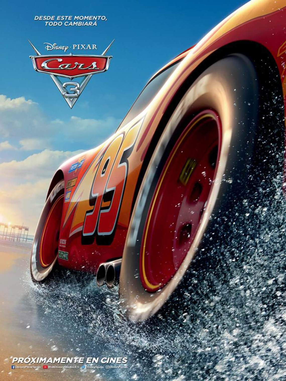 cars 3 poster  Cars 5 (5) - Poster 5 | Cars 5 full movie, Streaming ...
