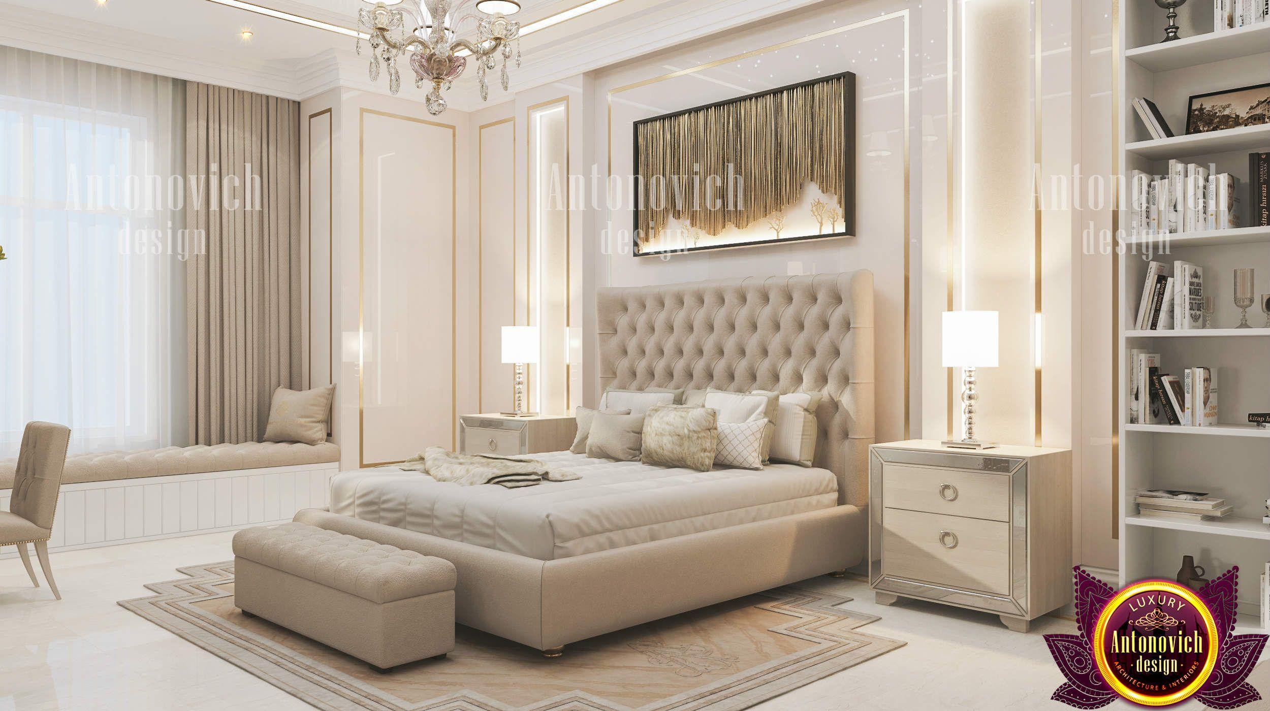 Delicate Bedroom Design  Interior design bedroom, Luxury bedroom
