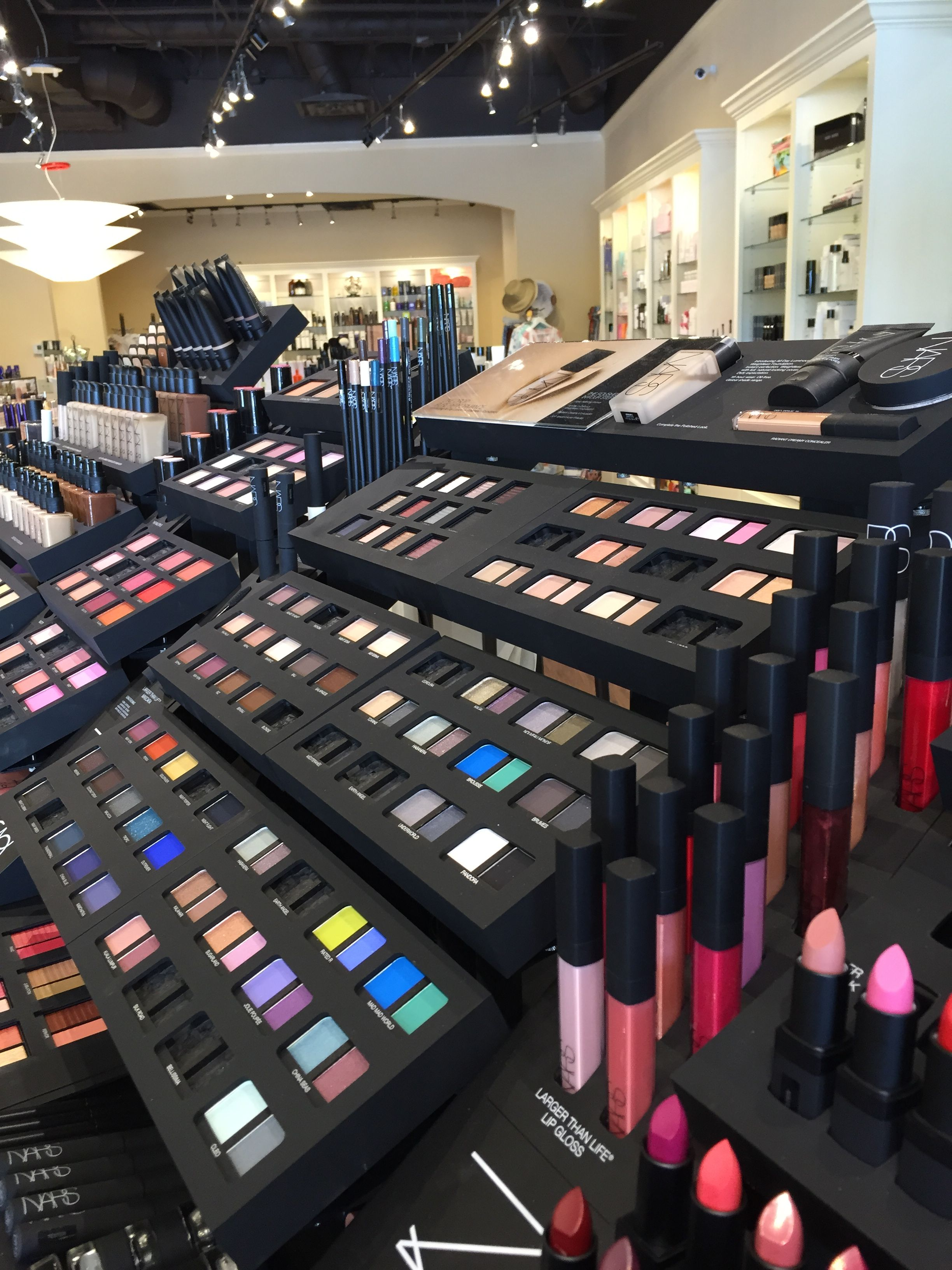 More great colors! Cosmetic store, Makeup store