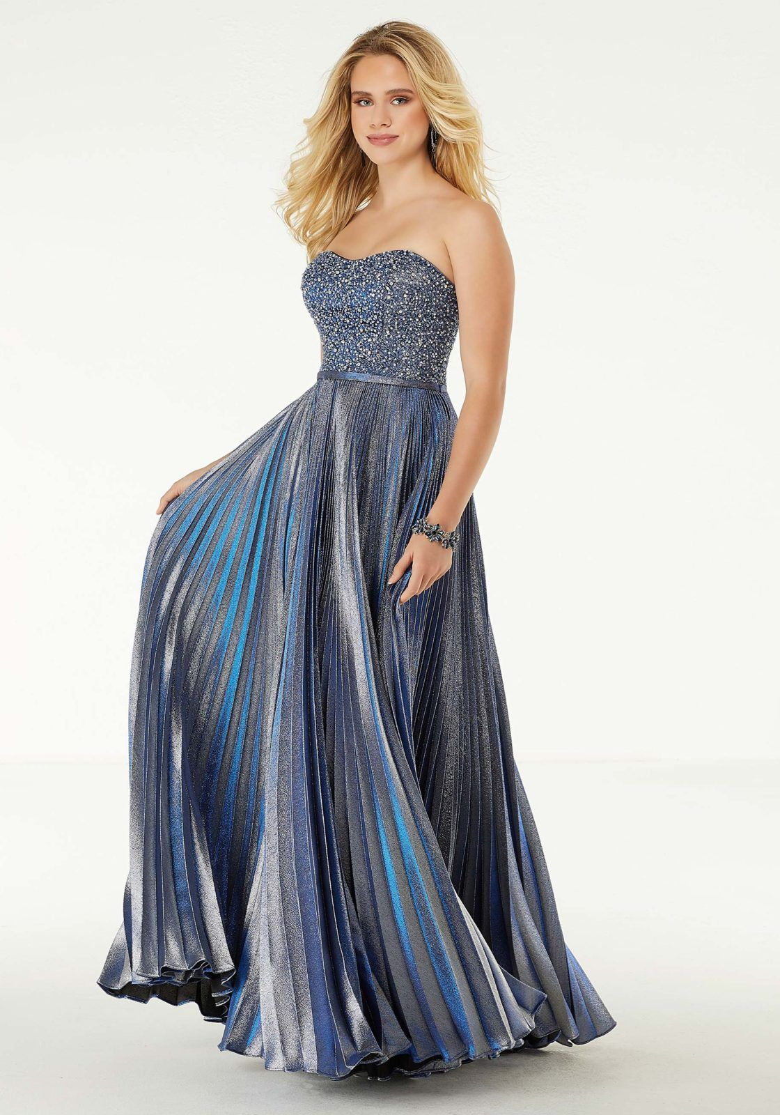 Crystal Pleated A Line Prom Dress Prom Dresses A Line Prom Dresses Perfect Prom Dress [ 1600 x 1120 Pixel ]