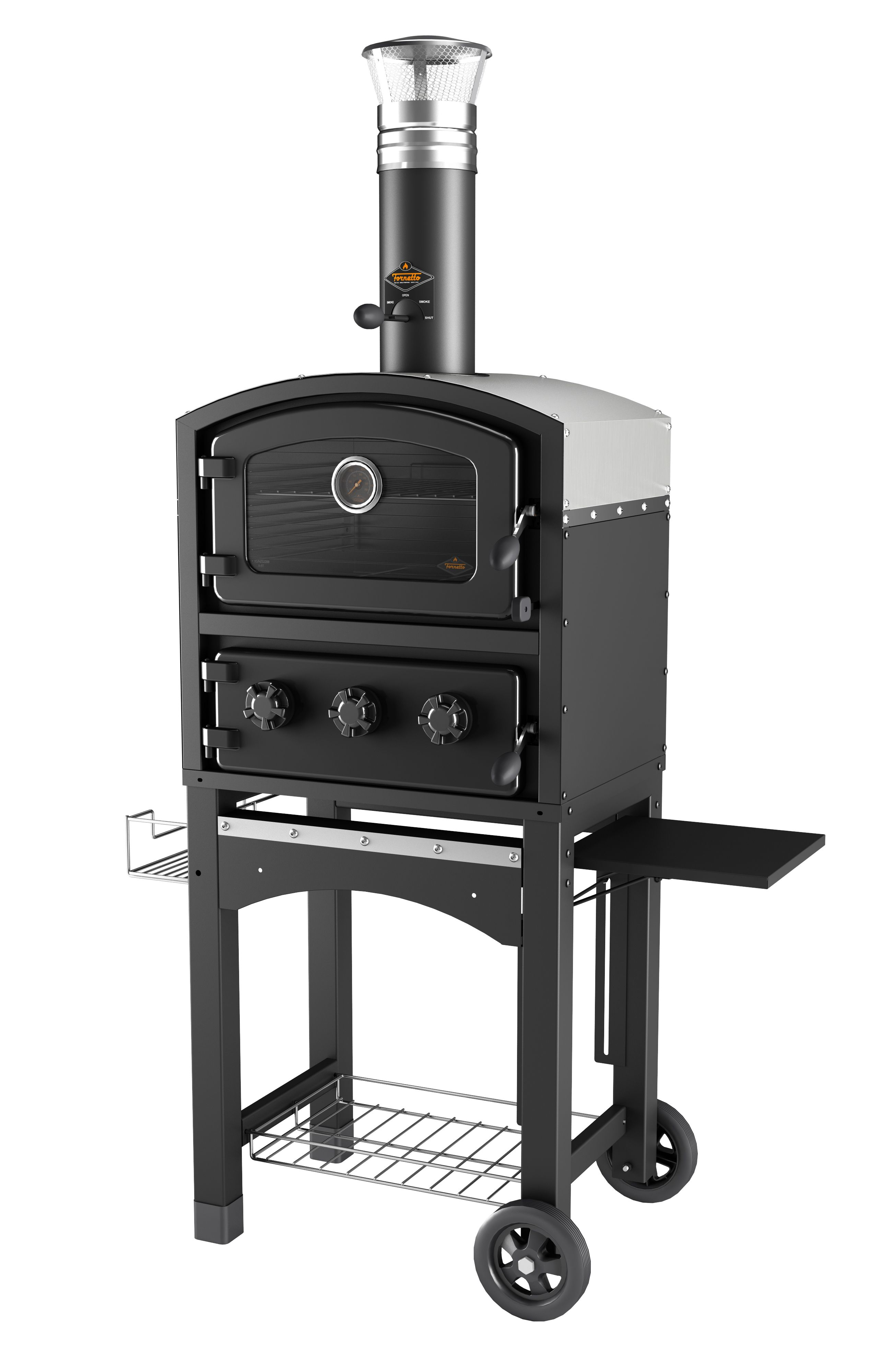 Wood Fire BBQ Pizza Oven Pizza oven, Wood fired