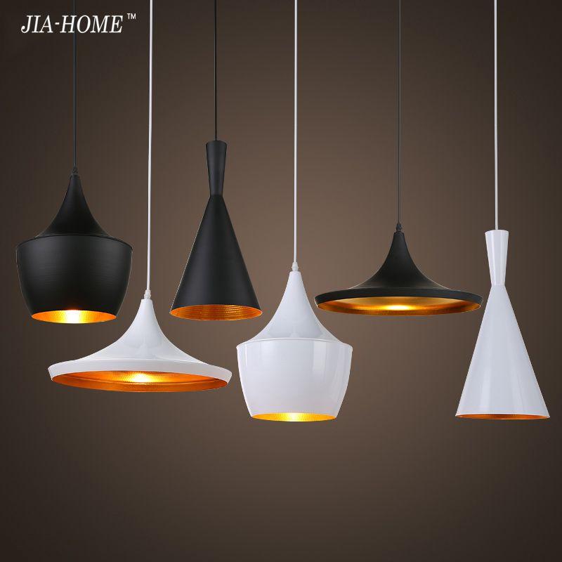 Vintage Pendant Lights Loft Lamp Avize Nordic Hanglamp Restaurant
