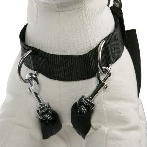 Null Dog Training Harness Dogs Red Grey