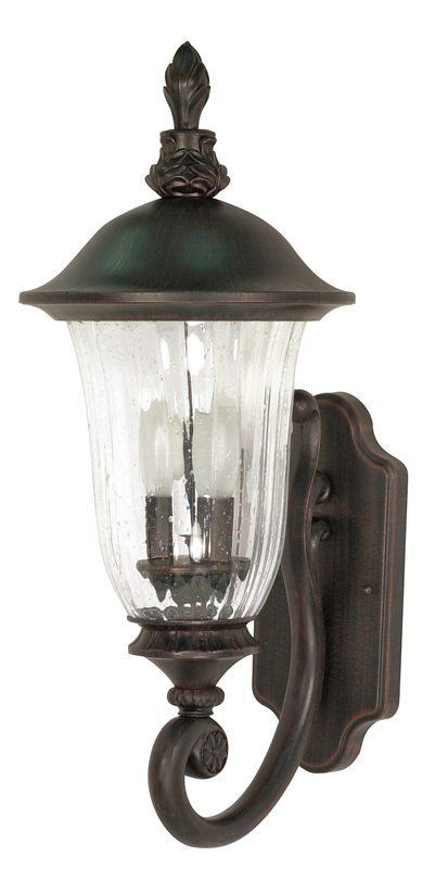 nuvo lighting 60 975 two light up lighting outdoor wall sconce from