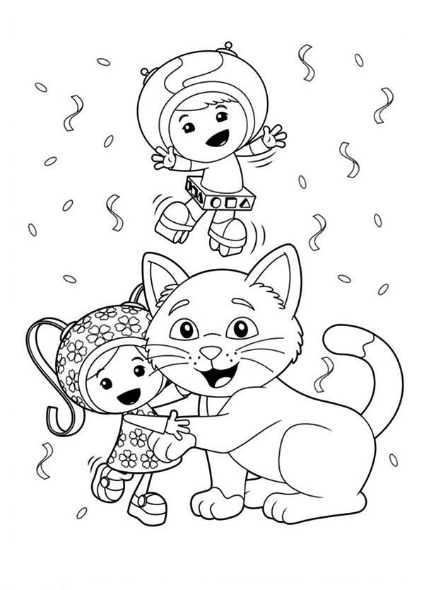 Team Umizoomi Coloring Book