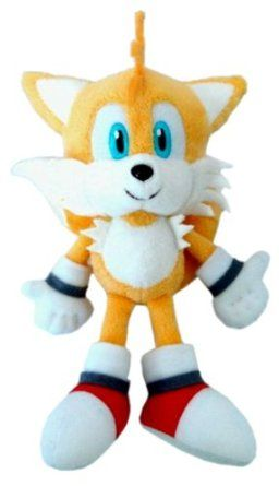 Amazon Com Official Nintendo Sonic The Hedgehog Plush Toy 6 Tails Japanese Import Toys Games Plush Toy Valentine Plush Sonic Birthday Parties