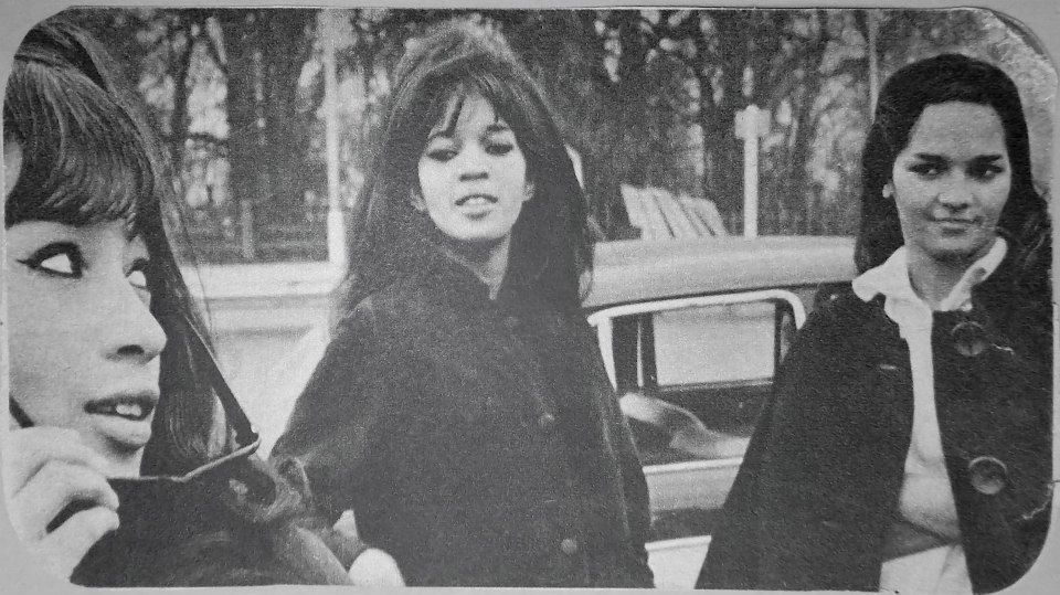 The Ronettes from Spanish Harlem, a 1960's all female pop