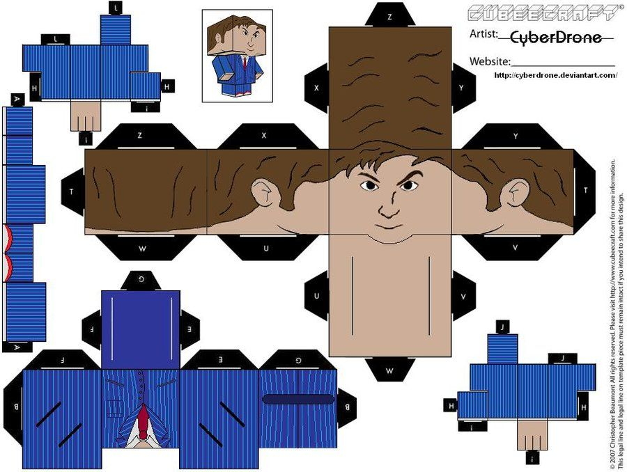 This is a graphic of Persnickety Doctor Who Paper