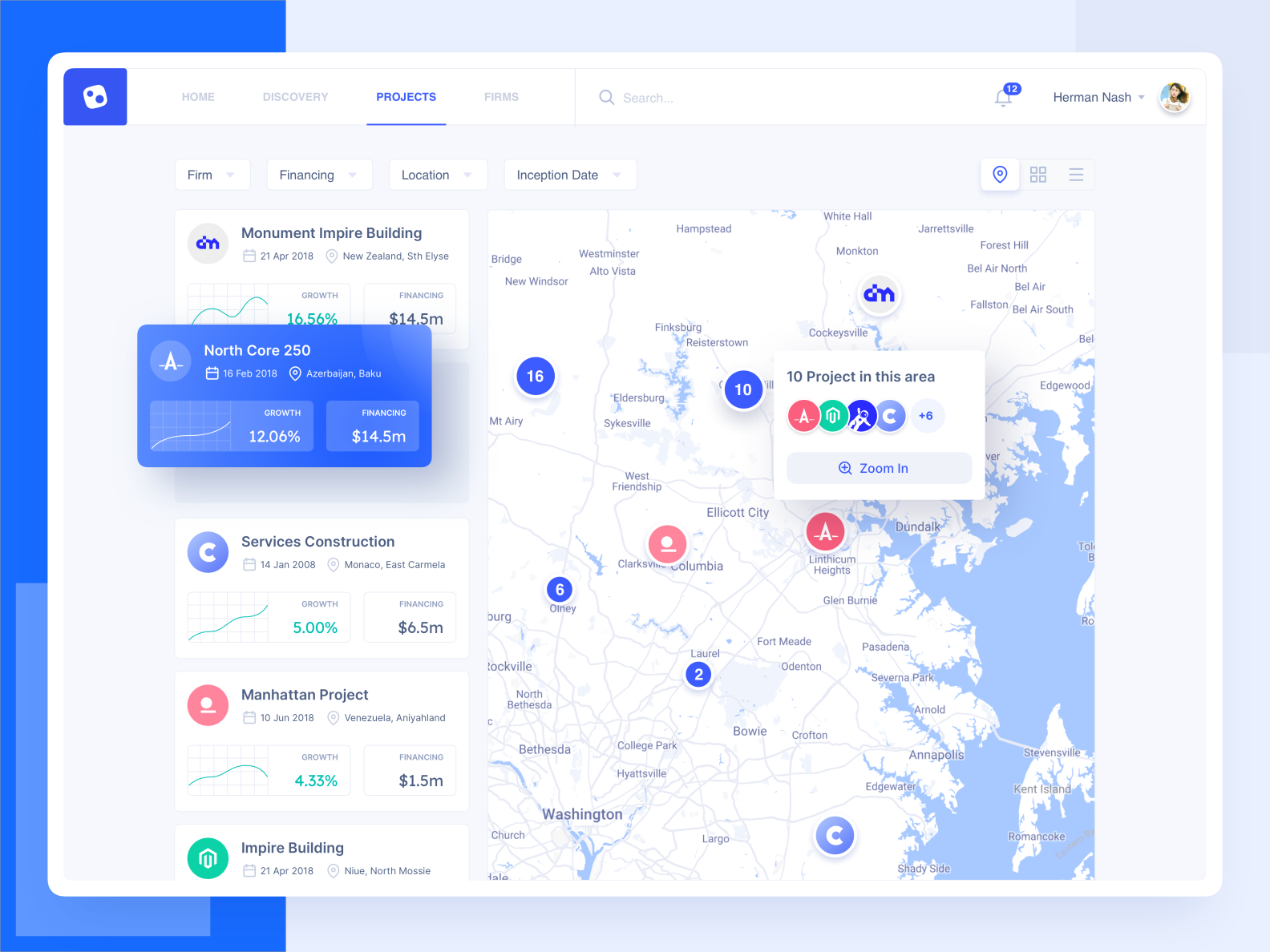 Ugem Control Projects Map View Web Design Web Design Inspiration Interface Design
