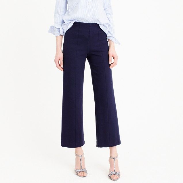 85e0274af Petite wide-leg ponte pant | Fashion | Ponte pants, Pants, Wide leg ...
