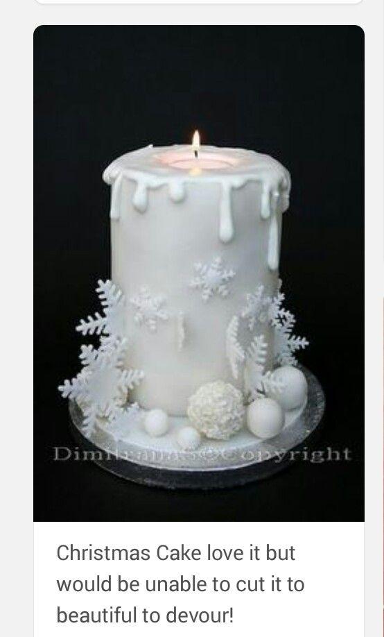 CHRISTMAS CAKE PIC