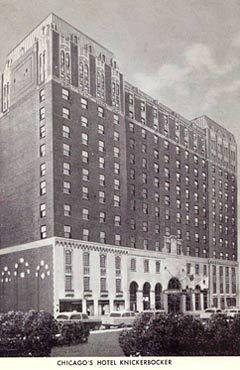 Knickerbocker Hotel Chicago Knickerbocker Hotel Chicago Hotel Historic Hotels