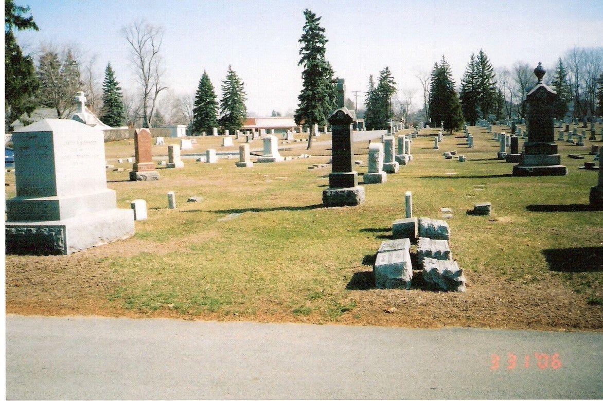 Barringer Lot St Joseph Cemetery Kings Road Schenectady New